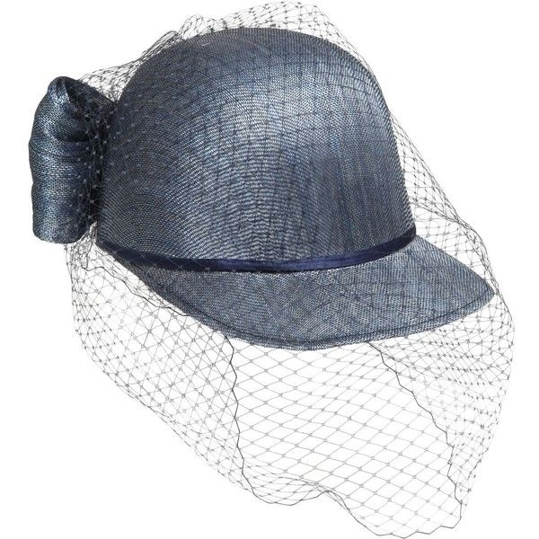 Alex Women Sisal Hat W  Net Tulle Veil (3.788.085 IDR) ❤ liked on ... a843912678db
