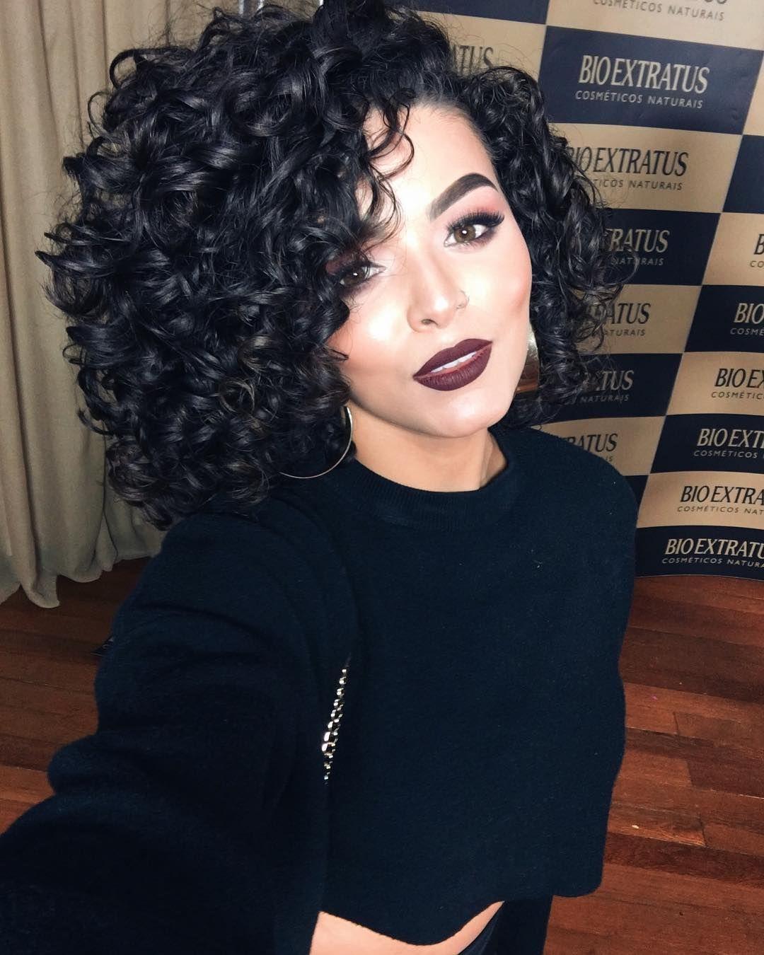 Que cabelo heein make hair nails pinterest curly