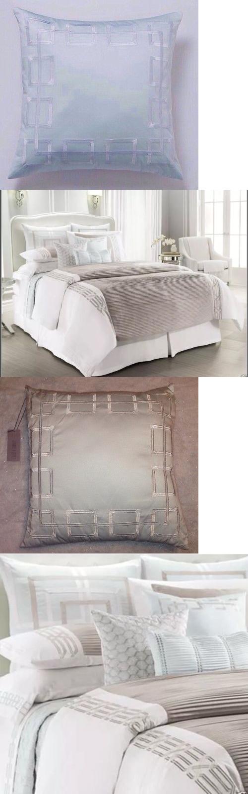 Blue decorative bed pillows - Decorative Bed Pillows 115630 New Jlo Jennifer Lopez Escape Decorative Throw Pillow 18x18 Icy Blue