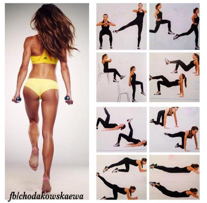 Chodakowska Butt Workout #doit #doroboty #wierzewciebie #daszrade #niepoddawajsie #ewachodakowska #chodakowska #butt #sexybutt #workout #trening #ćwiczenia #pośladki #tyłek