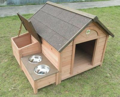 Ideas para hacer casas de perros pinterest casa de for Construir casa de perro