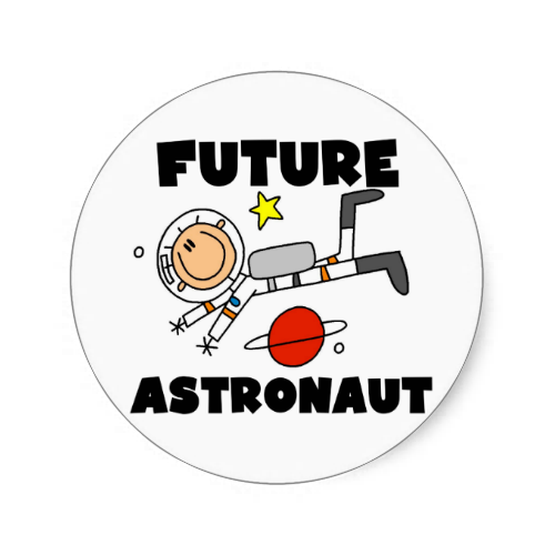 astronaut stickers - photo #14