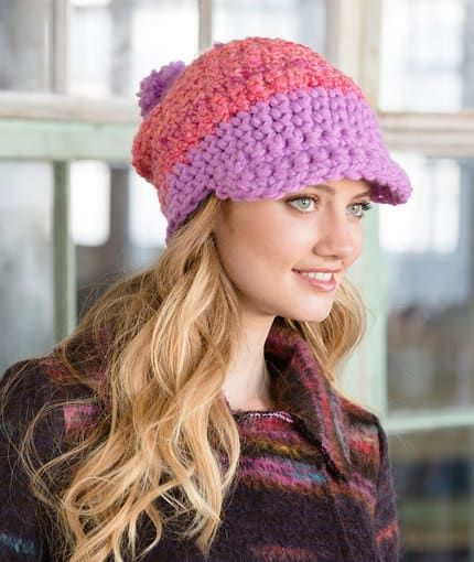 Crochet Newsboy Cap Free Pattern Brim Hat Free Crochet And Crochet