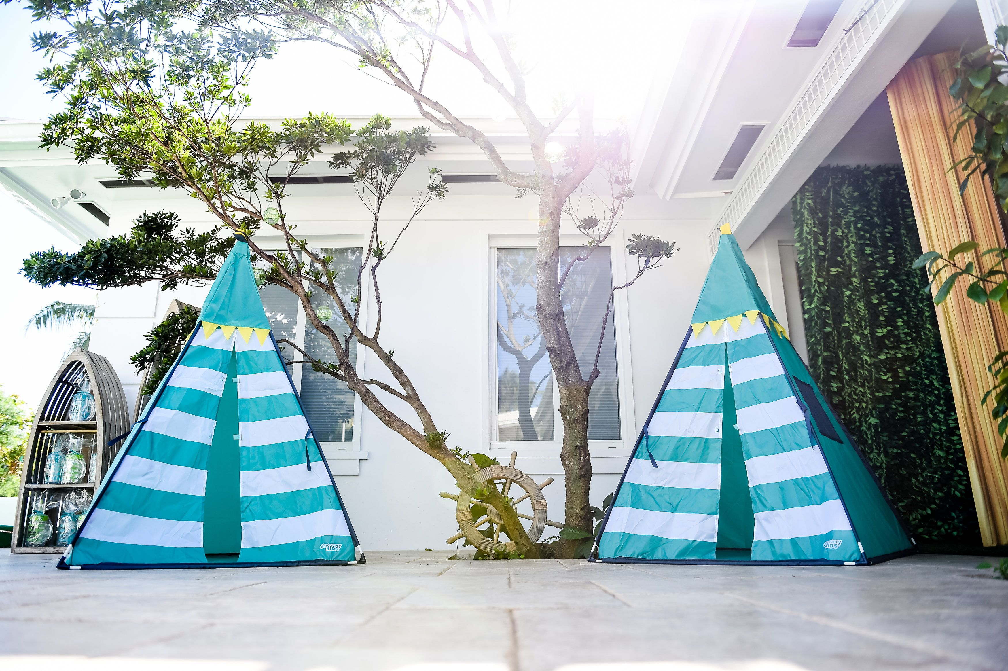 023 Blue Kiddie Teepees- Event Planning: One Inspired Party