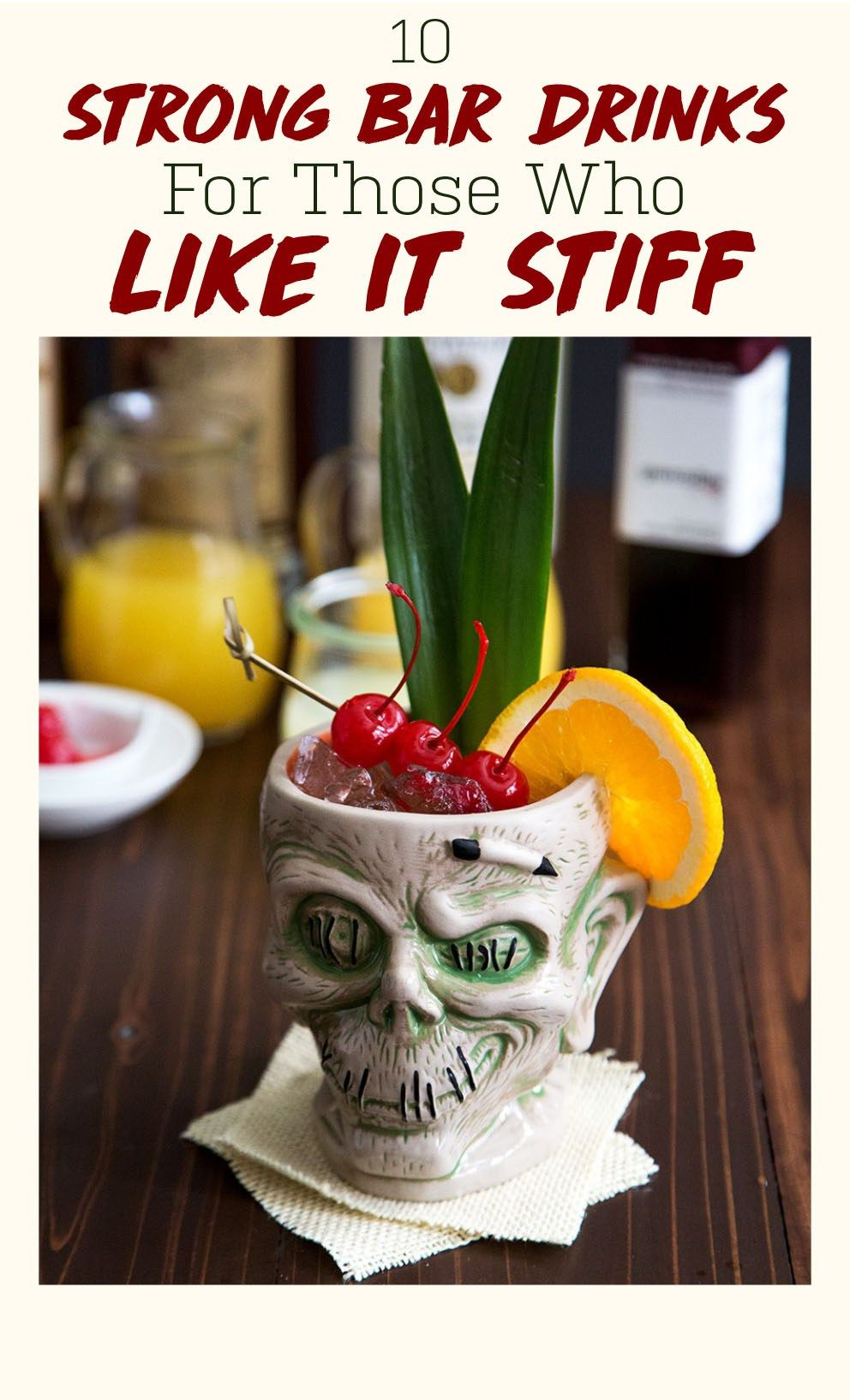 10 Strong Bar Drinks For Those Who Like It Stiff | Strong ...
