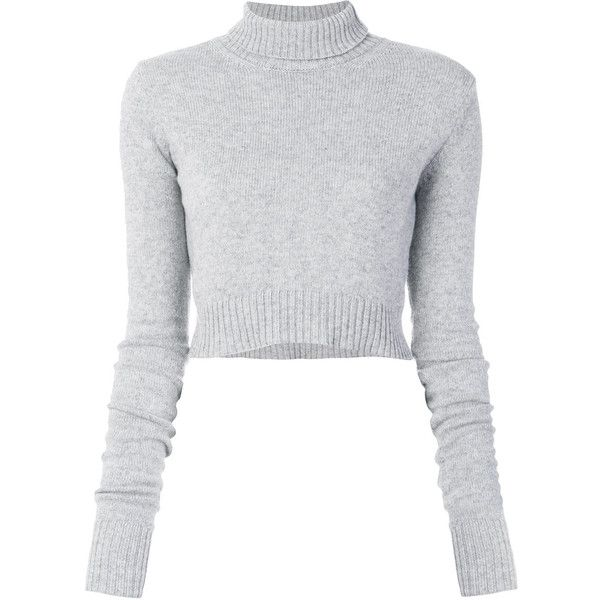 aaaa73de83a Faith Connexion cropped turtleneck jumper ( 380) ❤ liked on Polyvore  featuring tops