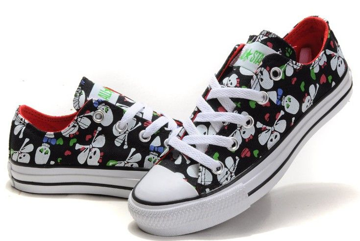Skull Sneakers | Shoes, Converse shoes
