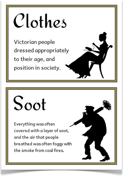 The Victorians Fact Cards Treetop Displays A Set Of 24 A5 Fact Cards That Give Fun And Interesting Fac Victorian Facts Victorian History Classroom Displays