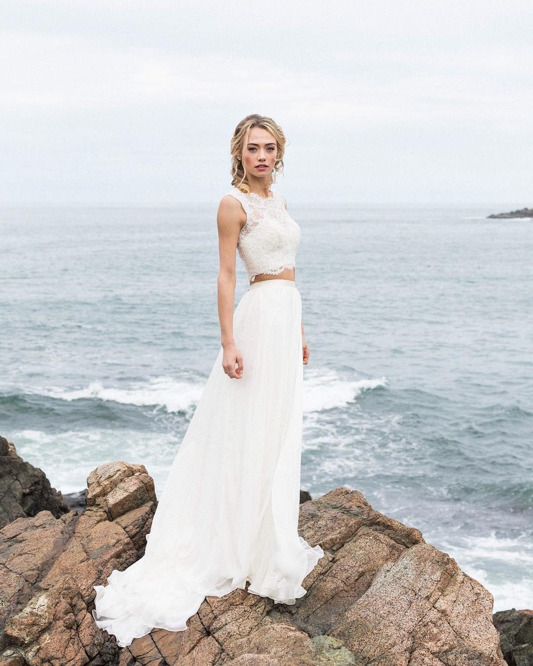Beach wedding looks  Ver esta foto do Instagram de livypoulin u  curtidas  wedding