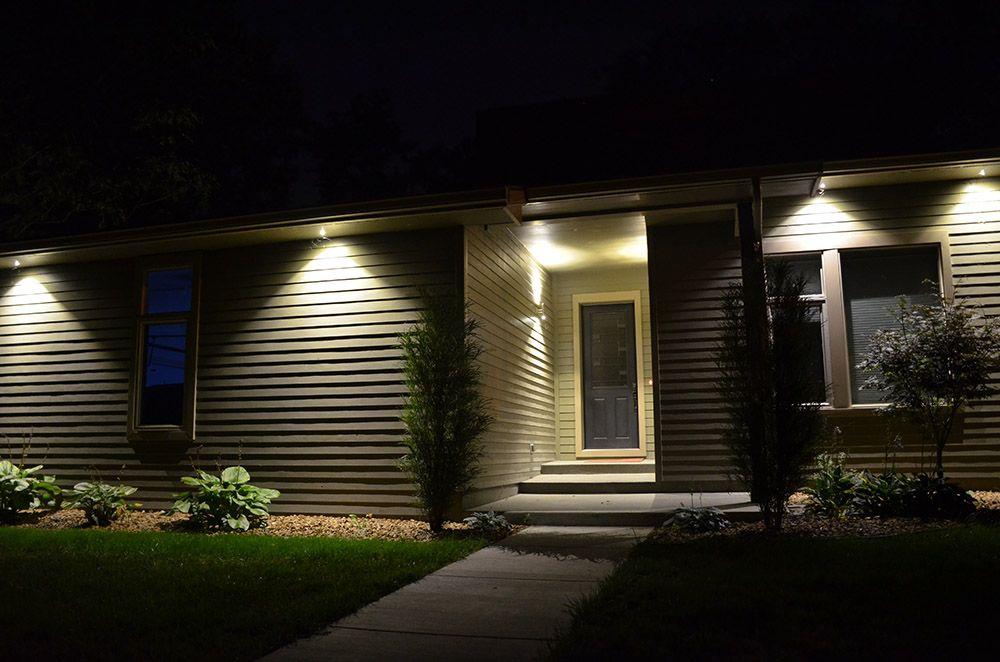 led soffit lights outdoor recessed