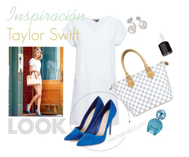 """""""Inspiración Taylor Swift"""" by sabrinachiralt on Polyvore featuring moda, Vince, Louis Vuitton, Bling Jewelry, Essie y Marc Jacobs"""
