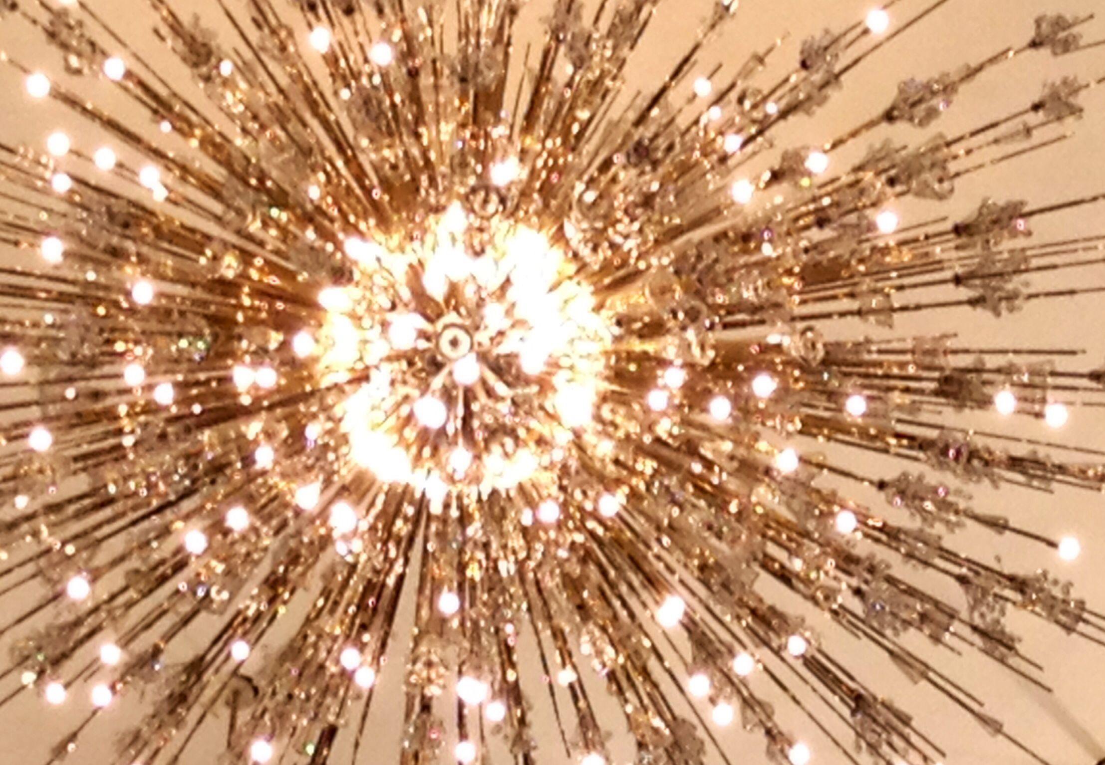 Sputnik chandelier at the Metropolitan Opera in NYC Recently