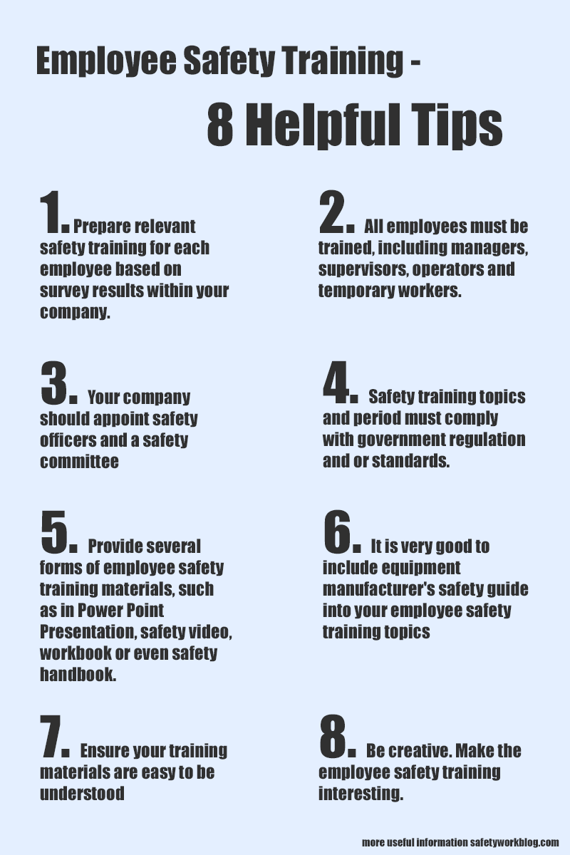 Employee Safety Training 11 Helpful Tips in 2020 (With