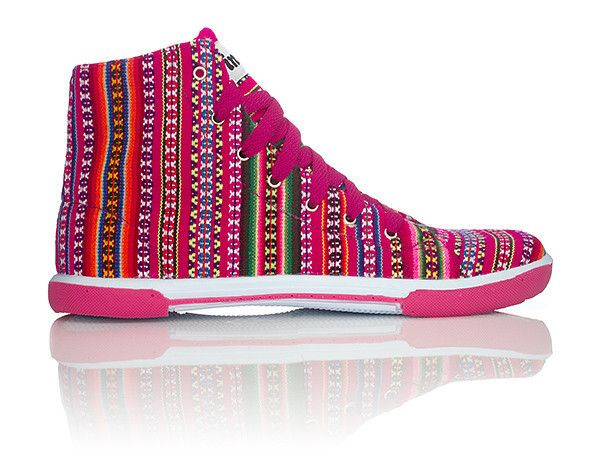 Bubble Gum INKKAS Phuyupata Shoes Tribal & Aztec Shoes