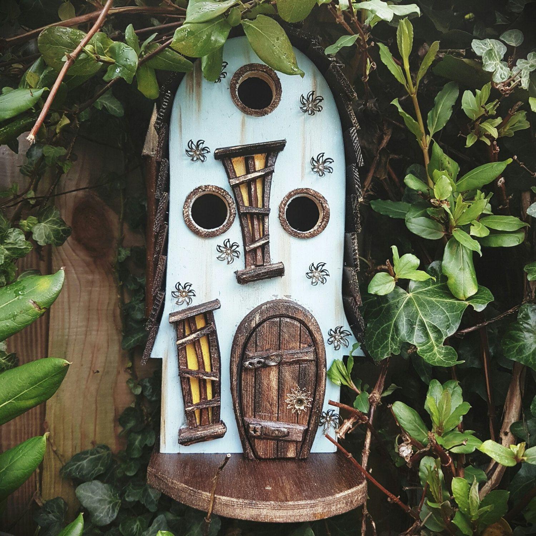 Tiny Home Designs: MR TUMBLEWEED'S Bird House/birdhouse /handmade /Garden Art