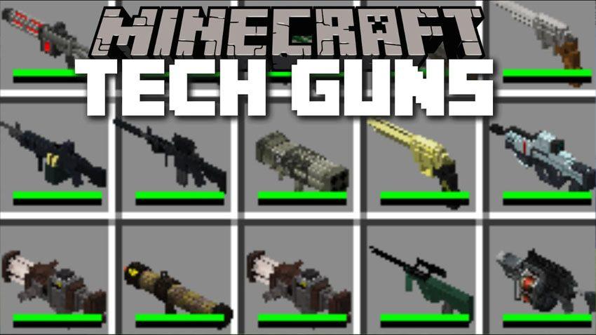 Techguns Mod Minecraft Mods Minecraft Pe Minecraft
