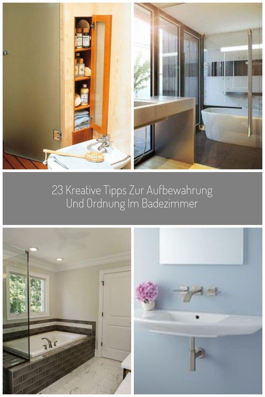 23 Kreative Tipps Zur Aufbewahrung Und Ordnung Im Badezimmer In 2020 Home Decor Home Decor