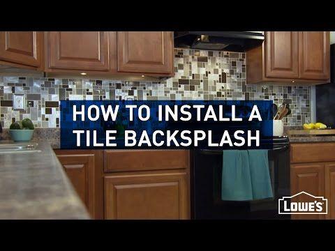 Instant Mosaic Peel And Stick Tile Youtube Backsplash Install