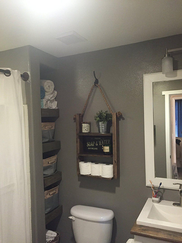 Bathroom Shelf Hanging Rope Shelf Medicine