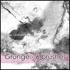 Grunge - Download  Photoshop brush http://www.123freebrushes.com/grunge-353/ , Published in #GrungeSplatter. More Free Grunge & Splatter Brushes, http://www.123freebrushes.com/free-brushes/grunge-splatter/ | #123freebrushes