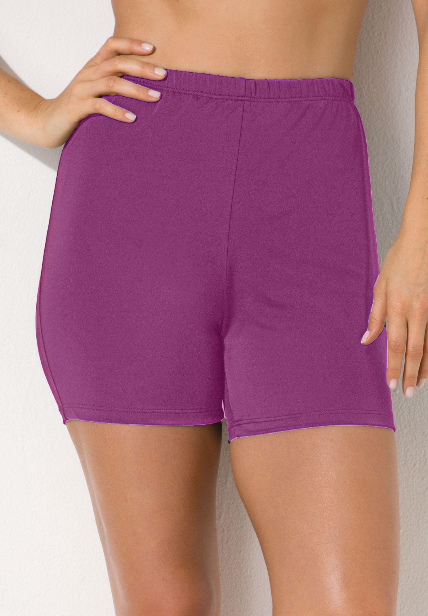 8ecf06dfac Plus Size Boy shorts | Clothes for Gina, Swimwear | Gym shorts ...