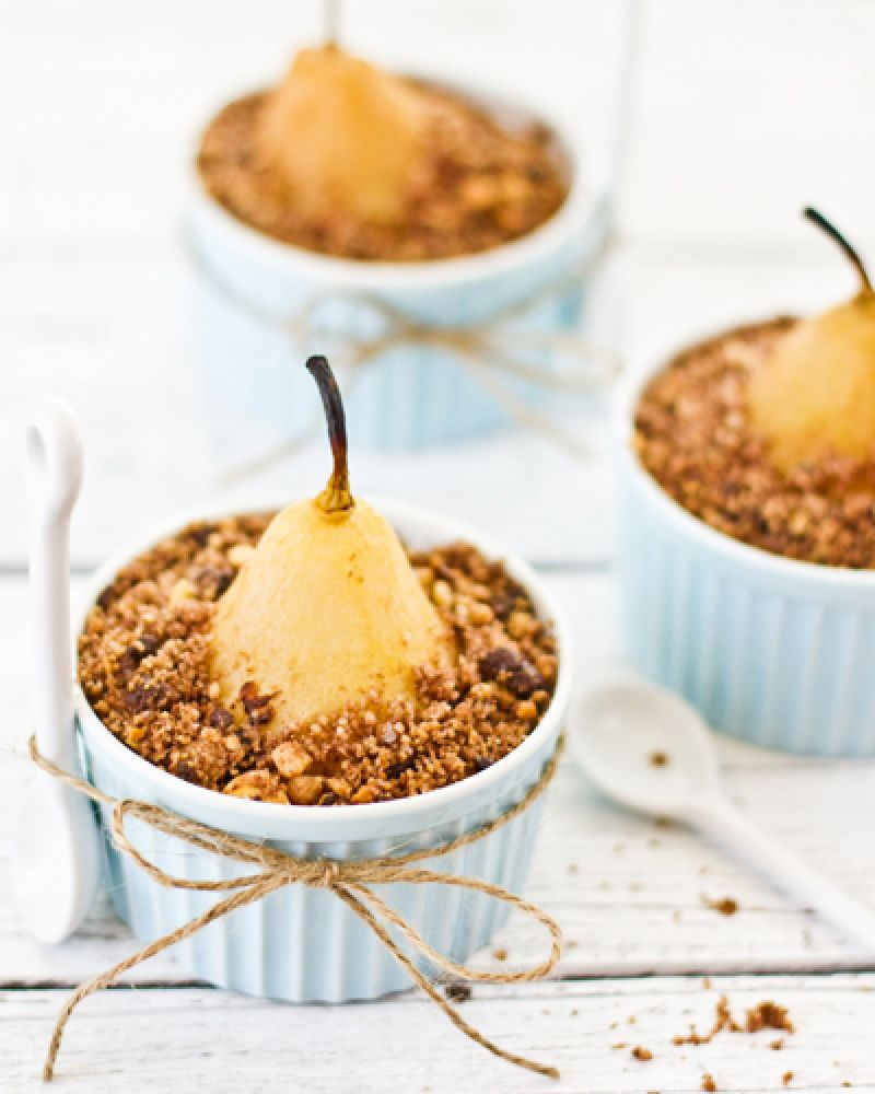 Peer Crumble 40 Ways We Can T Wait To Eat Pears Dessert Pinterest