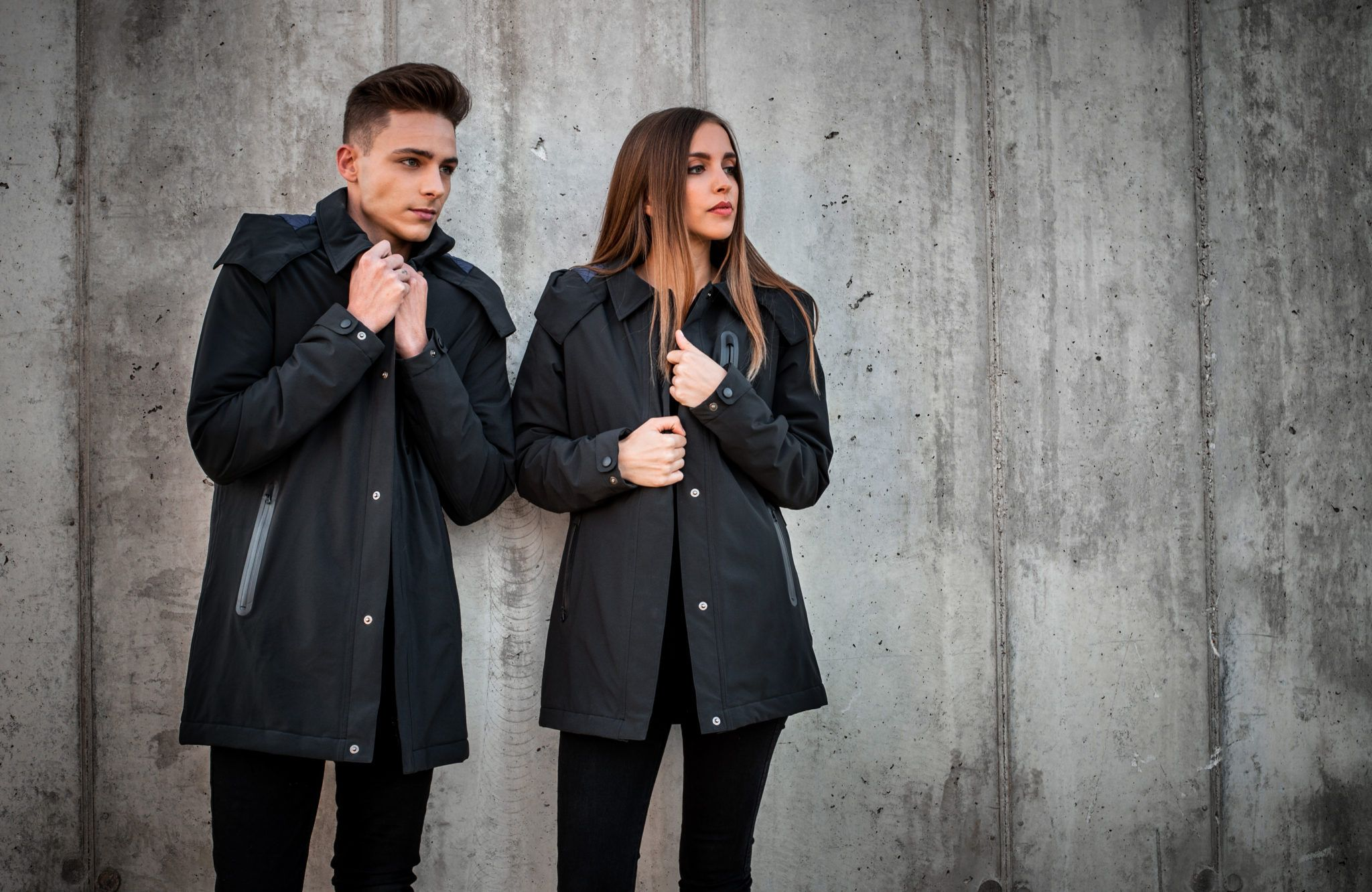 Ultra Coat Is A Stylish And Functional Self Heating Jacket