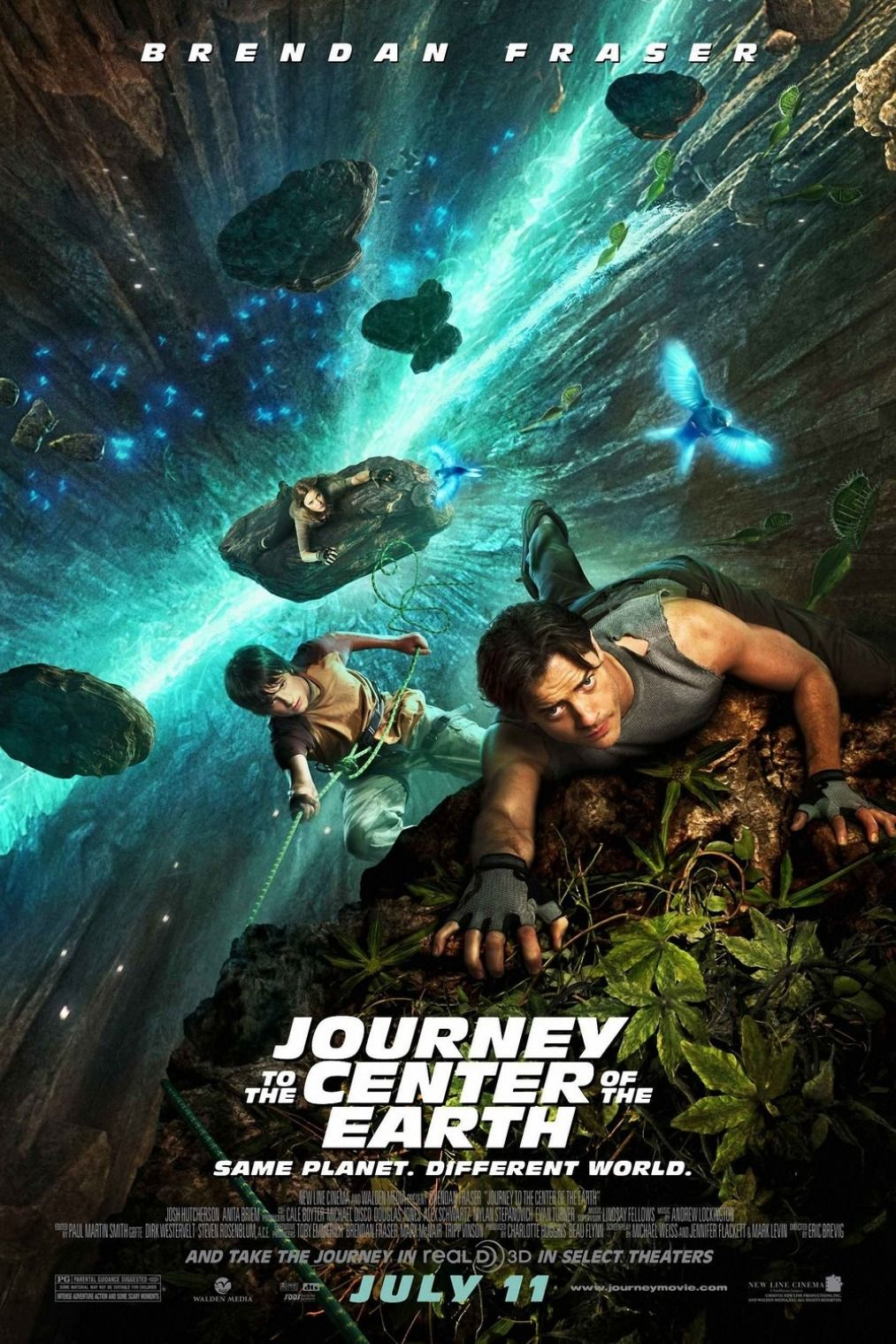 Journey To The Center Of The Earth 2008 Free Download 720p Bluray Full Hd Movie Earth Movie Adventure Movies Family Movies