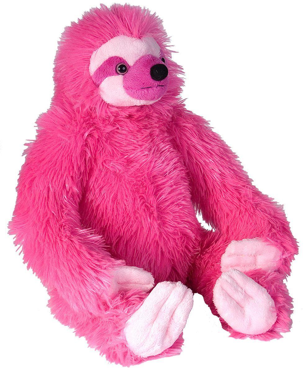 Wild Republic Pink Sloth Stuffed Animal Sewing stuffed