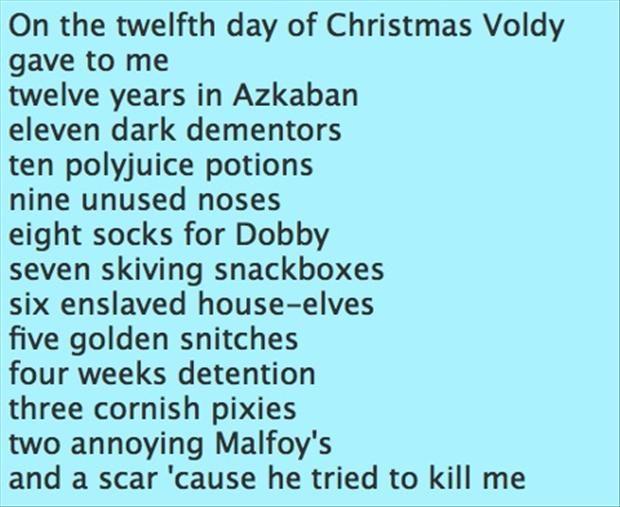 Harry Potter 12 Days Of Christmas Dump A Day Harry Potter Obsession Harry Potter Love Harry Potter Fan
