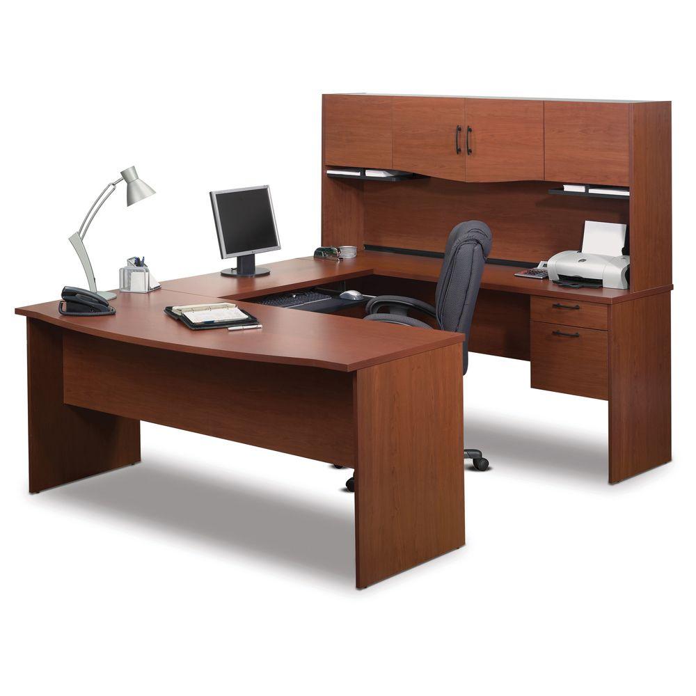 Bestar Harmony U Shaped Workstation   Overstock™ Shopping   The Best Prices  On Bestar