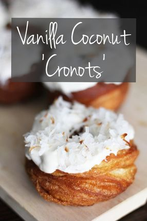 chocolate caramel cake vanilla coconut quot cronots quot diy cronut tm two bees 2843