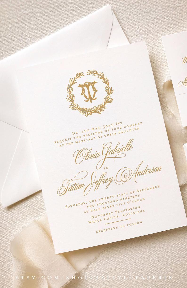 Elegant Wedding Invitations Printed Wedding Invitation Suite Printing Wedding Invitations Wedding Invitations Elegant Wedding Invitations