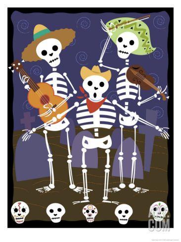 Esquelitos- skeletons