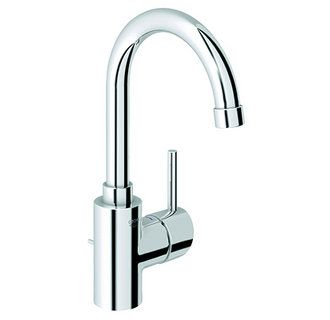 Concetto New Bathroom Faucet With Swivel Spout And SilkMove Ceramic Disc  Cartridge   Free Drain Assembly With Purchase
