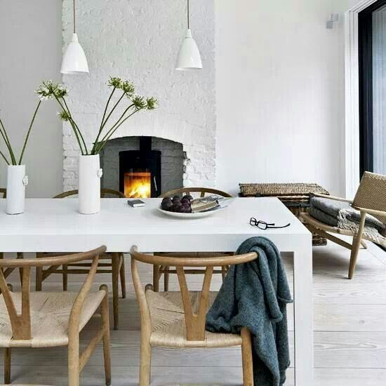 An Inviting Dining Room In East London Via Living Etc