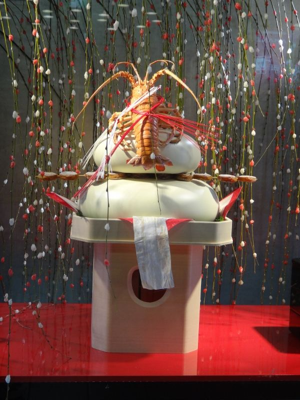 Japanese New Year's Decoration, Kagami Mochi(画像あり) | お正月 ...
