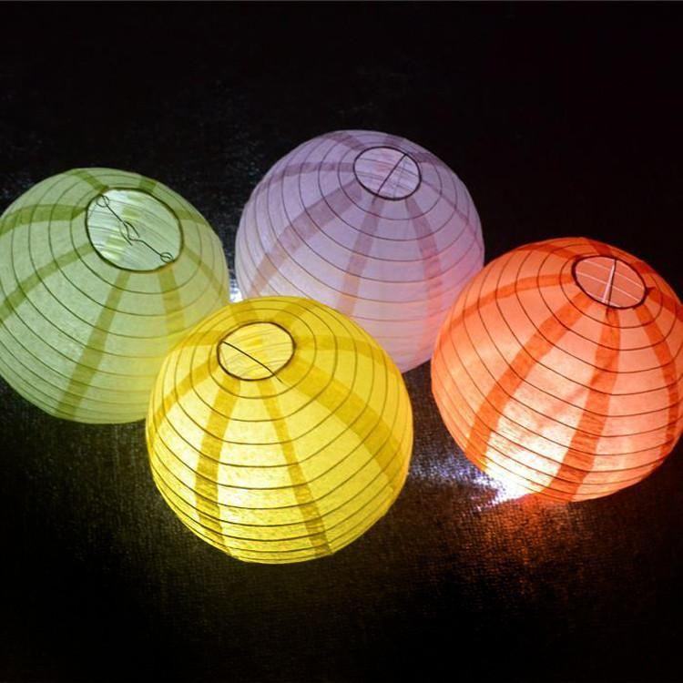 Led Lights For Paper Lanterns 6 Lights Per Pack Paper Lantern Lights Paper Lanterns White Paper Lanterns