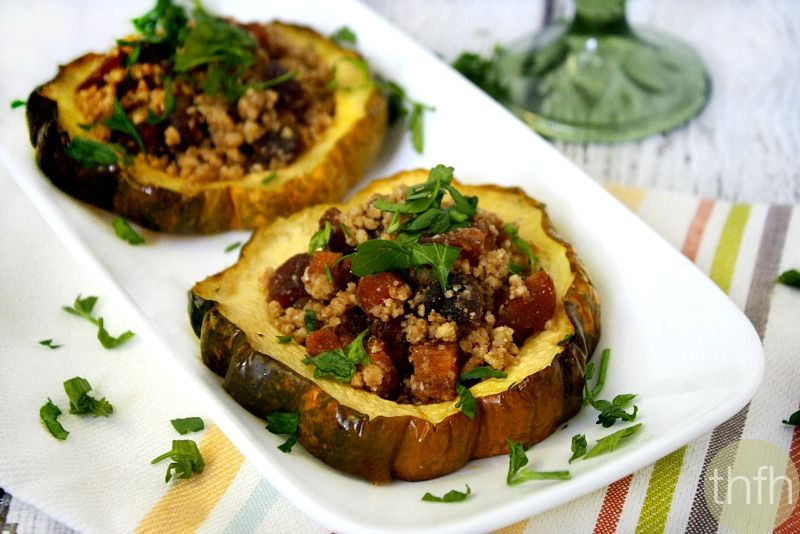 "This Acorn Squash Rings with Walnuts and Dried Apricots recipe was created for this month's theme for The Recipe Redux...using a spice you never use. ""Spooky Spices: You know they are lurkin..."