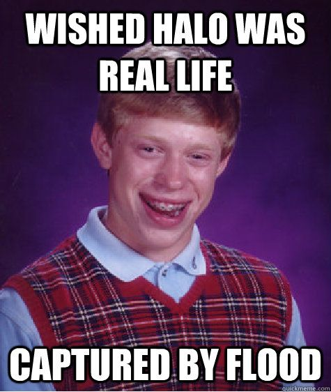 2ec2ace4446b123d54ed78ff7f465c9a wished halo was real life captured by flood bad luck brian