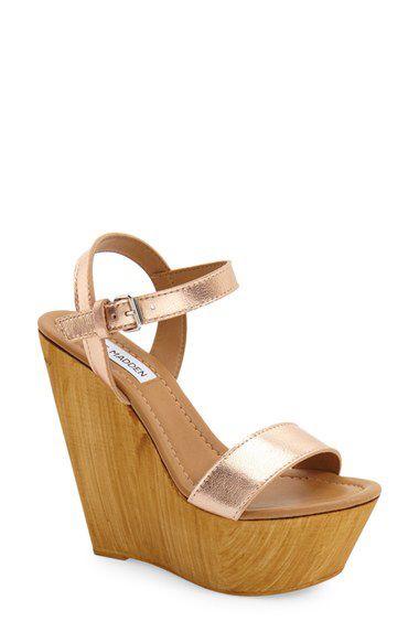 Steve Madden Steve Madden 'Kalesi' Platform Wedge Sandal (Women) available at #Nordstrom