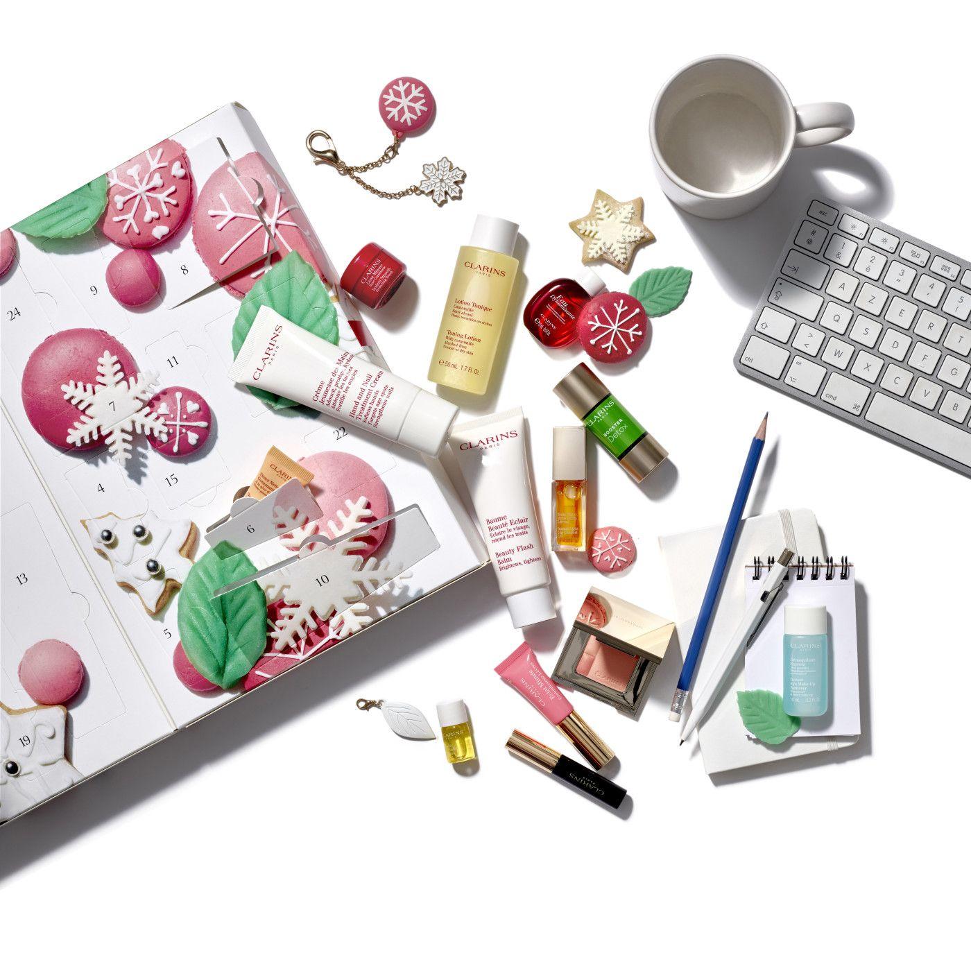 Clarins ~ Httpbeautysuperspycomclarins Christmas Beauty Advent Calendar