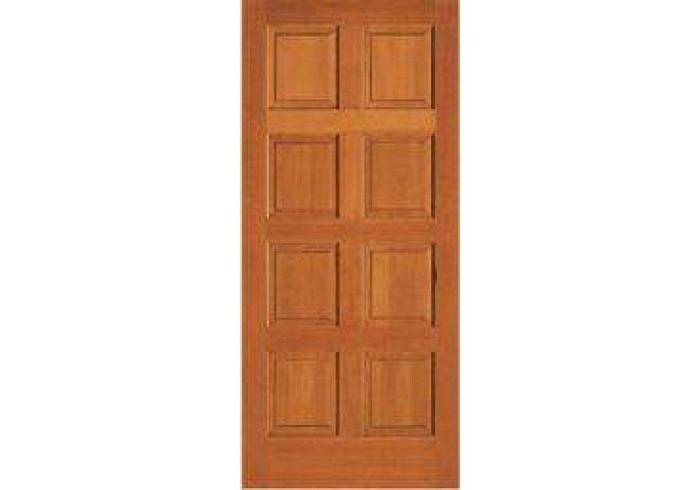 ABF88   Vertical Grain Douglas Fir Interior Doors 8 Panel (1 3/8