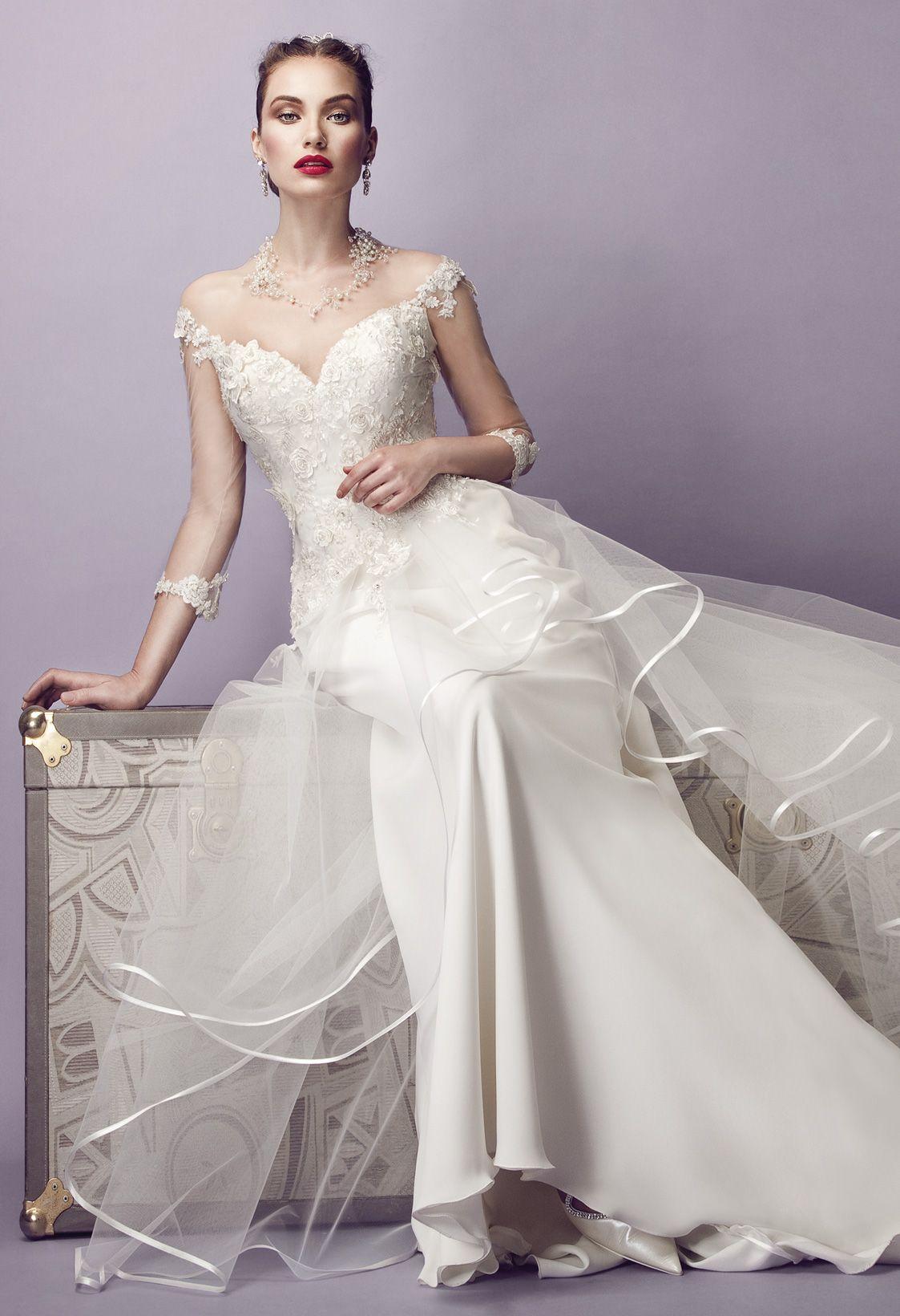 Abiti Da Sposa Elvira Gramano.Elvira Gramano Wedding Dresses Sleeveless Wedding Dress Dresses