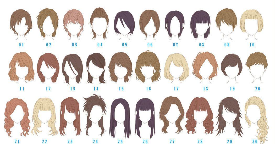 随分前にリアル系の髪型集を自分の練習と参考資料のために作ったものです 実際役にたった事がないですが参考にどうぞ p 芸能人の髪型を参考にしてるのもあります 初総dr1位 110 000 ヘアスタイルのスケッチ イラスト 髪型のスケッチ