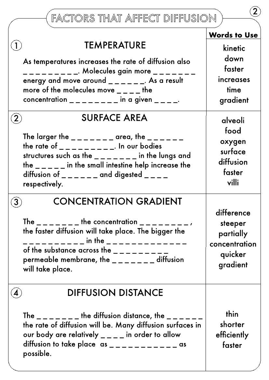 GCSE Biology: Diffusion [ 1170 x 827 Pixel ]