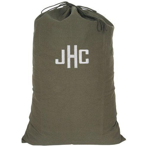 Personalized Dorm College Camp Laundry Bag Olive Drab Camo Print Free Ship 23 95 Via Etsy