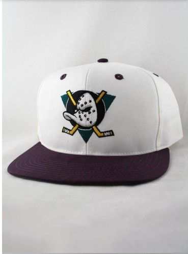 d64c9c055 Anaheim Mighty Ducks YOUTH Vintage Snapback Hat Cap NHL NEW WITH ...