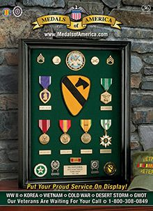 Picture of military awards and decorations from Medals of