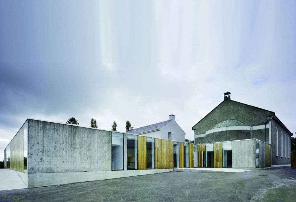 Modern Architecture Dublin knocktopher friary / odos architects | dublin ireland, ireland and